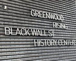 Tulsa race massacre museum Greenwood Rising