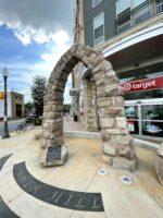 Tinner Hill arch monument, Falls, Church, Virginia