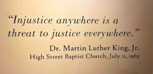 King quote injustice