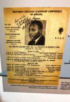 King flyer for Danville visit March